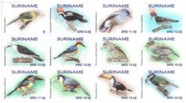 REP. SURINAME 2021 VOGELS BIRDS