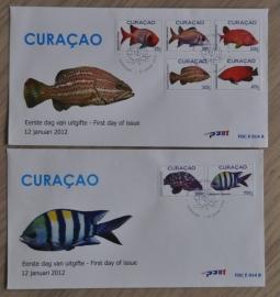 NVPH E014 VISSEN FISHES POISSON FISCHE