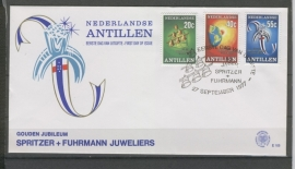 ANTILLEN 1977 FDC E105 JUWELIERS