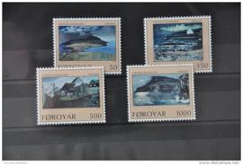 FAROËR 1990 MICHEL SERIE 207 EILAND ISLAND  ++ J 165