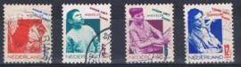 NEDERLAND 1931 NVPH 240-43 GEBRUIKT ++ L 557-2