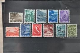 1953 NVPH 297-307  ++ M 037