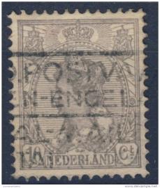 NEDERLAND 1922 NVPH 81 GESTEMPELD ++ J 28