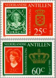 ANTILLEN 1980 NVPH SERIE 654