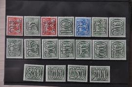 NEDERLAND 1940 NVPH 356-73 POSTFRIS ++ H 359