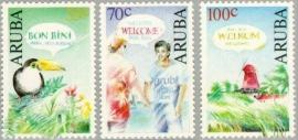 ARUBA 1991 NVPH SERIE 100 WENSZEGELS