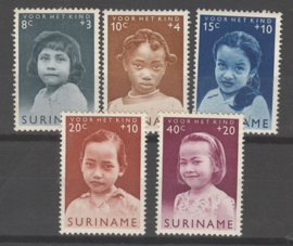 SURINAME POSTFRIS NVPH 398-02 KIND CHILD