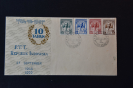 1955 FDC ZBL 146-149