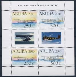 ARUBA 2010 NVPH VEL 438 VLIEGTUIG AIRPLANE