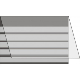 Mandor Insteekkaarten A5 210*148mm zwart 100 stuks