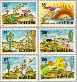 ANTILLEN 1990 NVPH SERIE 959 KIND CHILD