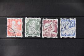 NEDERLAND 1930 NVPH R 86-89 GESTEMPELD ++ B 493
