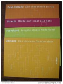 NEDERLAND 2002 NVPH V2065-76 ++ PROVINCIEVELLETJES COMPLEET