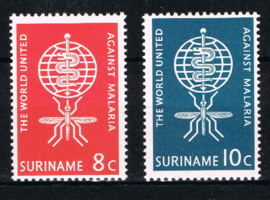 SURINAME POSTFRIS NVPH 384-85