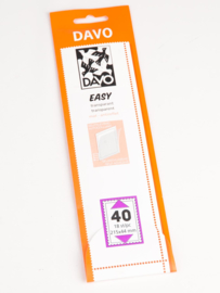 Easy stroken transparant T40 (215 x 44) 25 stuks
