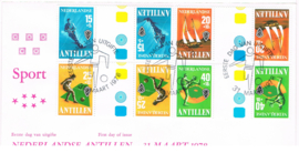 ANTILLEN 1978 FDC E 110A ++ PH