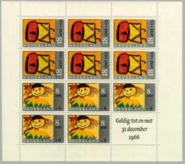 Postfris blokken/velletjes 1960-1979