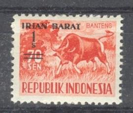 IRIAN BARAT Postfris