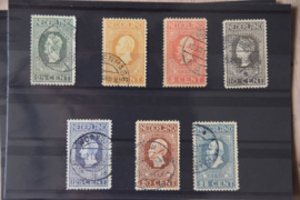 NEDERLAND 1913 NVPH 90-101 GESTEMPELD CERTIFICAAT ++ A 438AB