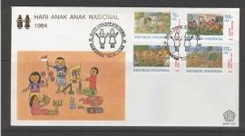 INDONESIË 1984 FDC 157 KIND