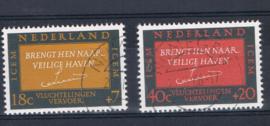 NEDERLAND 1966 NVPH 856-857 GEBRUIKT ++ L 562