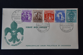 1955 FDC ZBL 137-141