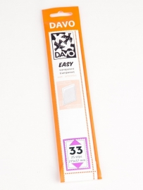 Easy stroken transparant T33 (215 x 37) 25 stuks