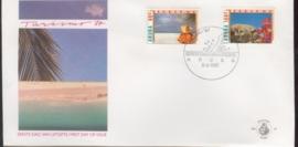 ARUBA 1987 FDC E 010 TOERISME