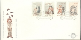 NEDERLAND NVPH FDC E206 KIND CHILD