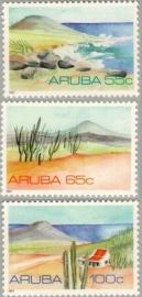 ARUBA 1991 NVPH SERIE 086 LANDSCHAPPEN