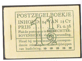 PH ++ POSTZEGELBOEKJE 1935  PZB PZ 22D-N POSTFRIS