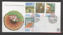 INDONESIË 1984 FDC 156