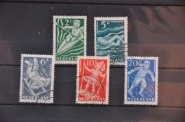 NEDERLAND 1948 NVPH 508-512 GEBRUIKT ++ J 70