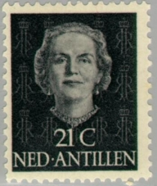 ANTILLEN 1950 NVPH SERIE 224 EN FACE JULIANA