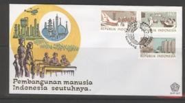 INDONESIË 1985 FDC 167