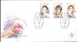 ARUBA 1996 FDC E 065 VROUWEN