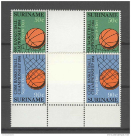 REP. SURINAME 1984 ZBL 416-417 BP ++ P 338