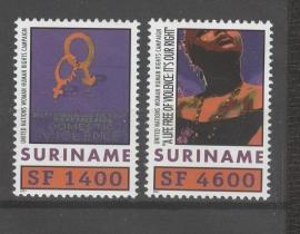 REP. SURINAME 2001 ZBL SERIE 1110
