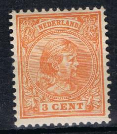 NEDERLAND 1891 NVPH 34 ONGEBRUIKT ++ K 137