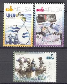 ARUBA 2002 NVPH SERIE 283 ENERGIE ENERGY
