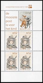 NEDERLAND 1982 NVPH SERIE 1279 KINDERZEGELS