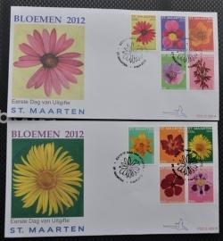 NVPH E009AB BLOEMEN FLOWERS FLEUR