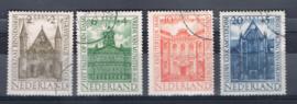 NEDERLAND 1948 NVPH 500-503 GEBRUIKT ++ A 521