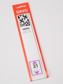 DAVO NERO STROKEN MOUNTS N21 (215 x 25) 25 STK/PCS