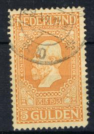 NEDERLAND 1913 NVPH 100 GESTEMPELD ++ J 346