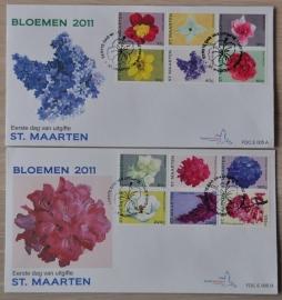 NVPH E005 BLOEMEN FLOWERS FLEUR