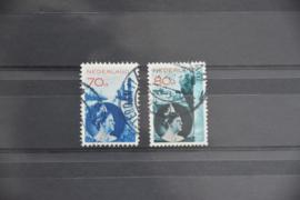 NEDERLAND 1931 NVPH 236-37 GEBRUIKT ++ A 480