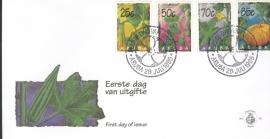 ARUBA 1995 FDC E 058 GROENTEN