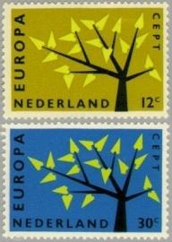 NEDERLAND 1962 NVPH SERIE 777 EUROPA CEPT