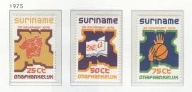REP. SURINAME 1975 ZBL SERIE 001